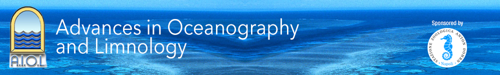 Advances in Oceanography and Limnology banner